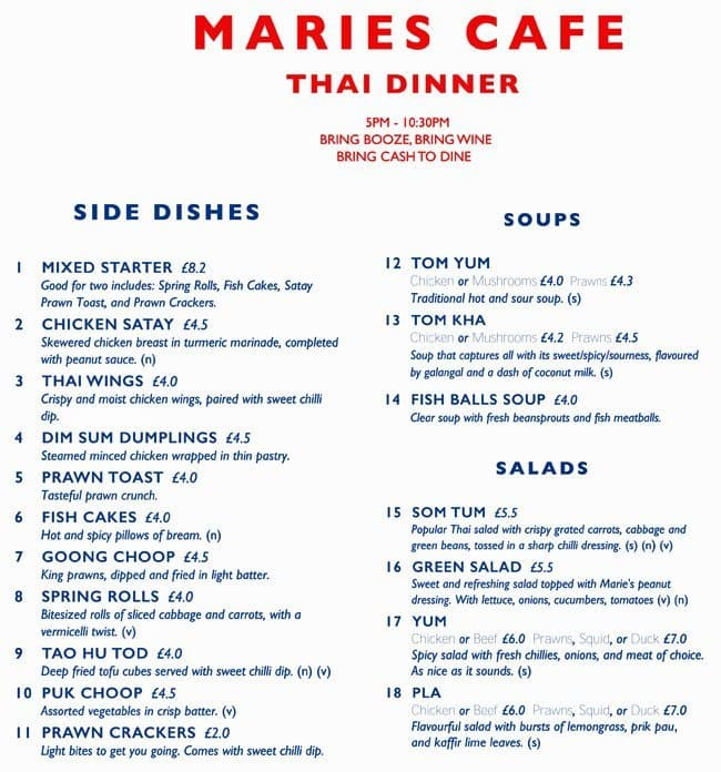 Marie S Cafe