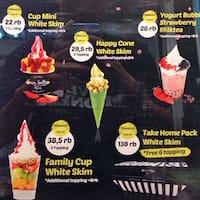White Gold Ice Cream - Voucher Berlaku Mulai 10 Agustus 2017