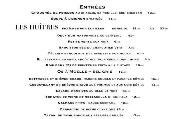 Les Tontons Flingueurs-Brasserie Menu - Urbanspoon/Zomato