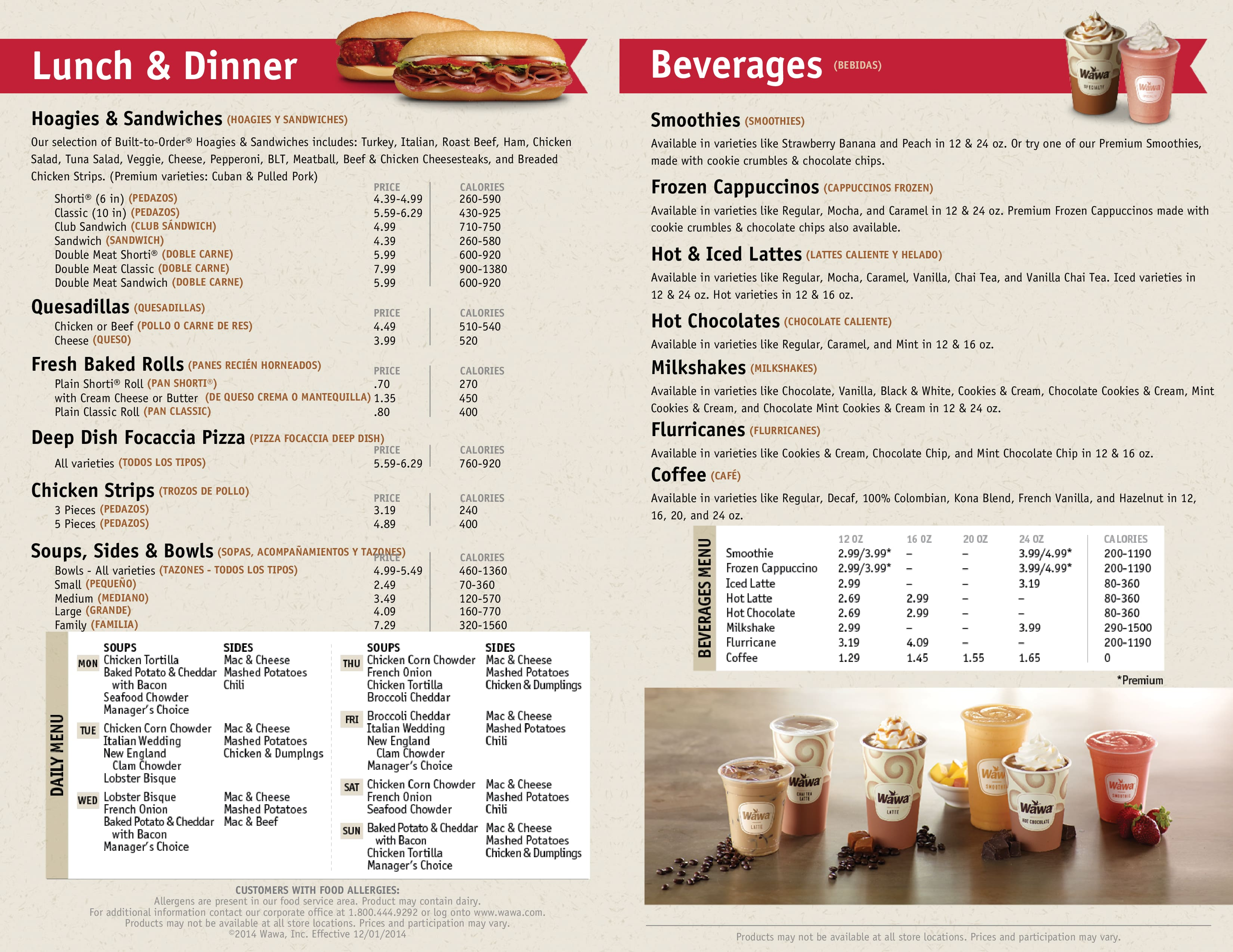 menu at wawa 901 n orlando ave restaurant prices