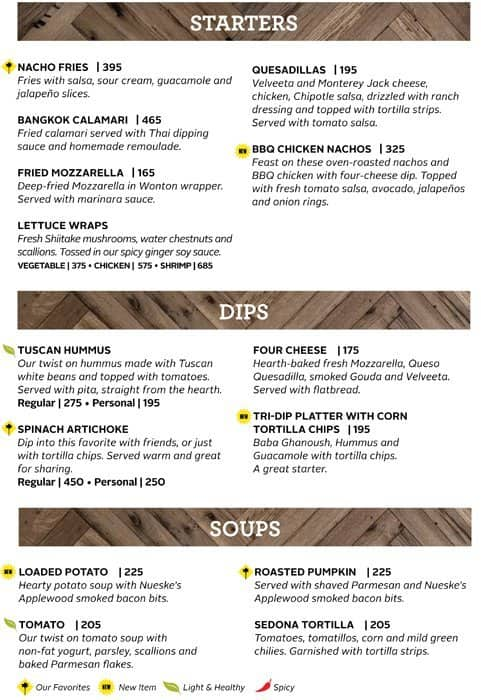 California Pizza Kitchen Menu Menu for California Pizza Kitchen Greenbelt