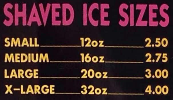 This kawaii shaved ice
