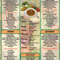 Scanned Menu For Kelley 039 S Country