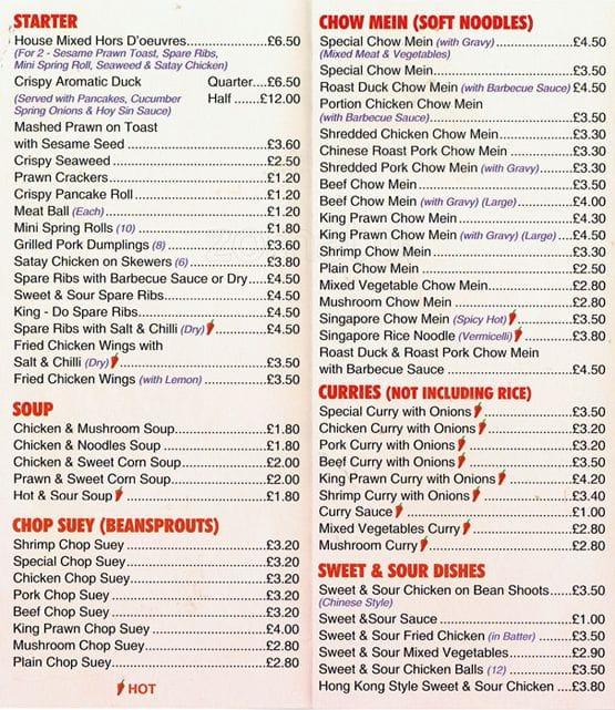 lees kitchen menu - Lees Kitchen Menu