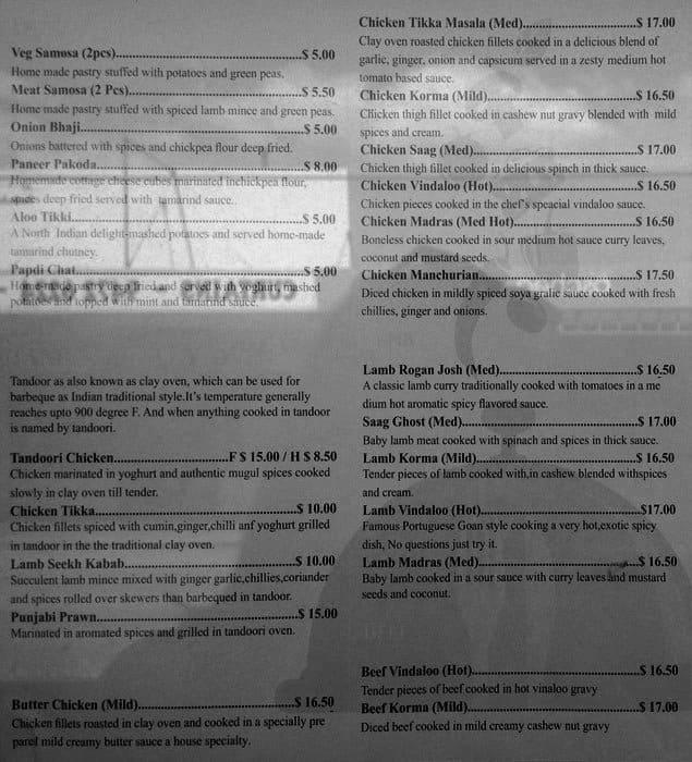 Indian Restaurant Victoria Park Perth