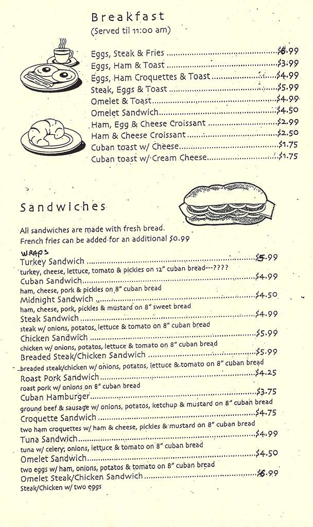 Latin Cafe Bakery Pembroke Pines