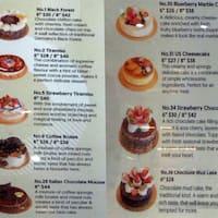 85 Degree Cake Prices Deluxe Strawberry Cake On Left And Taro Cream Brle On