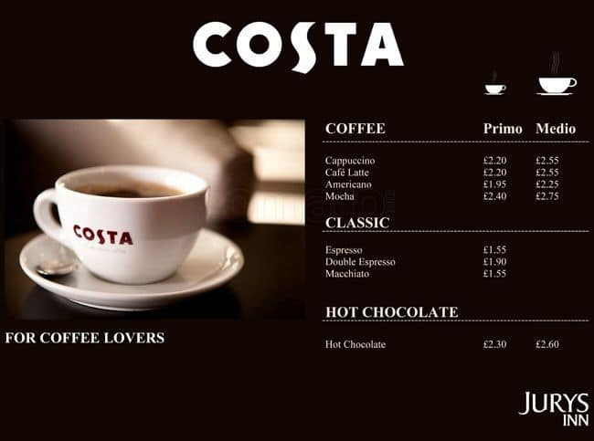 costa coffee pestle factors Pestel analysis of the global coffee industry coffee is the most widespread drink climate change is just one of numerous factors that may affect global.