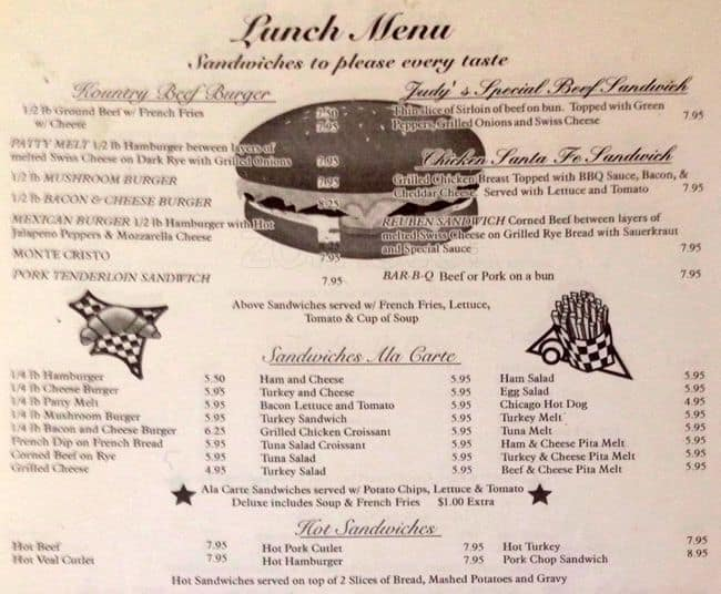 Kendalls Kountry Kitchen Menu, Menu for Kendalls Kountry Kitchen ...