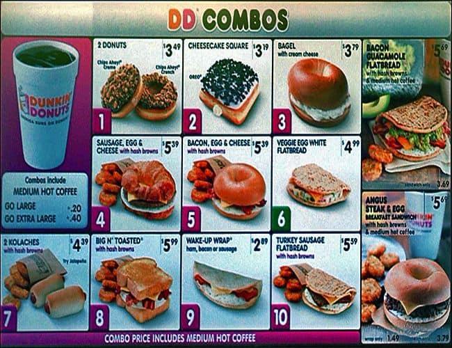 Dunkin' Donuts Menu, Menu for Dunkin' Donuts, Cedar Hill, Cedar Hill - Urbanspoon/Zomato