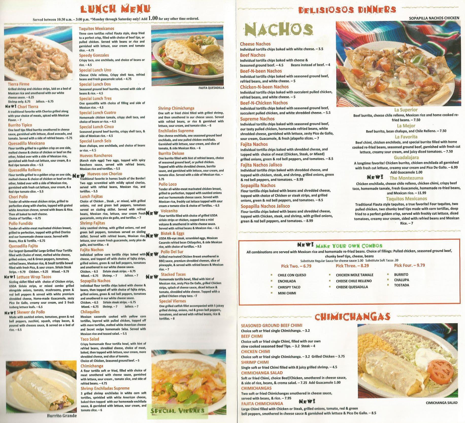 Mexican Food Jamestown Ca