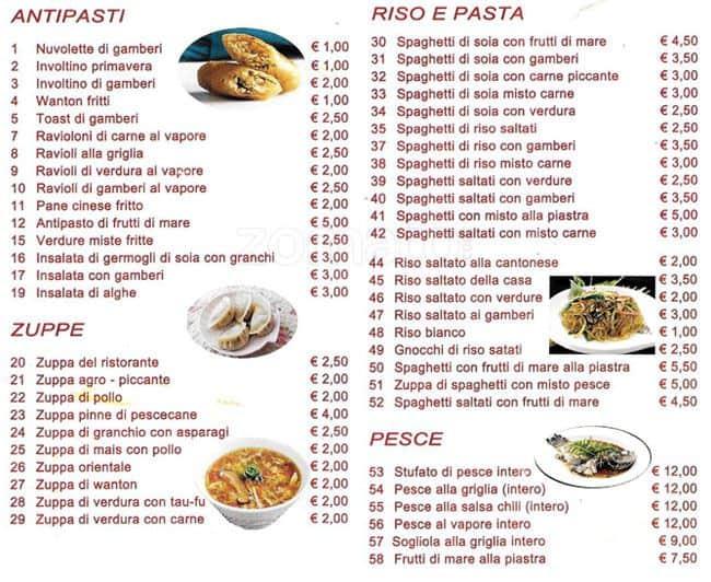 Giovanni S Italian Kitchen Menu