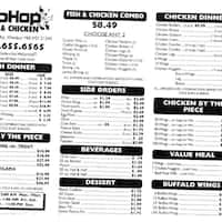 Hip hop fish chicken catonsville baltimore for Hip hop fish chicken menu