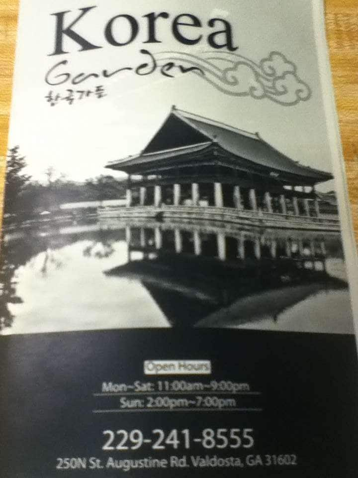 The Korea Garden Restaurant Menu Urbanspoon Zomato