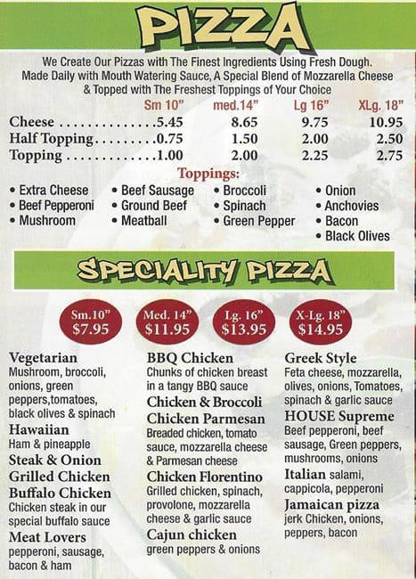 carnival pizza 2 menu menu for carnival pizza 2 stenton