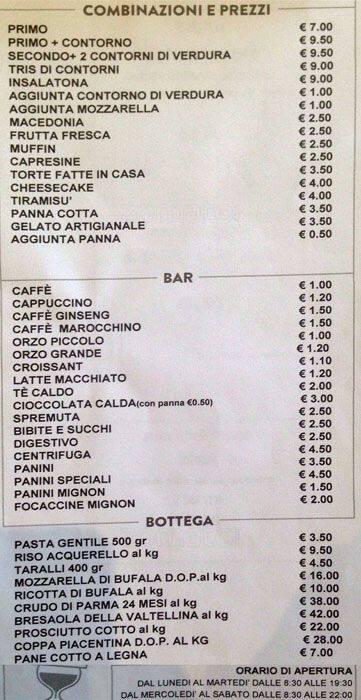 Delicatissimo Menu Menu For Delicatissimo Isola Milano