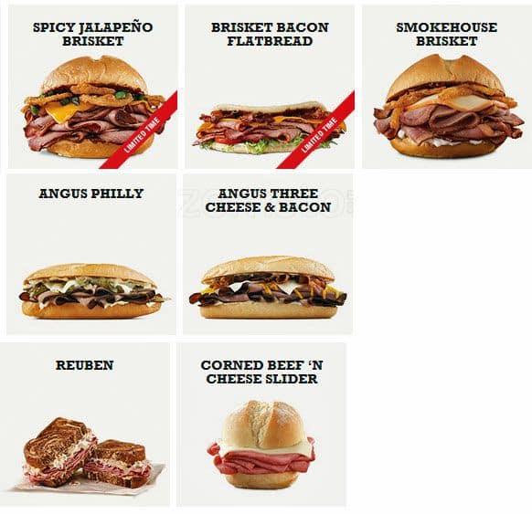 Arbys Food Reviews