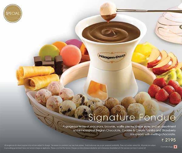 Haagen dazs fondue price singapore