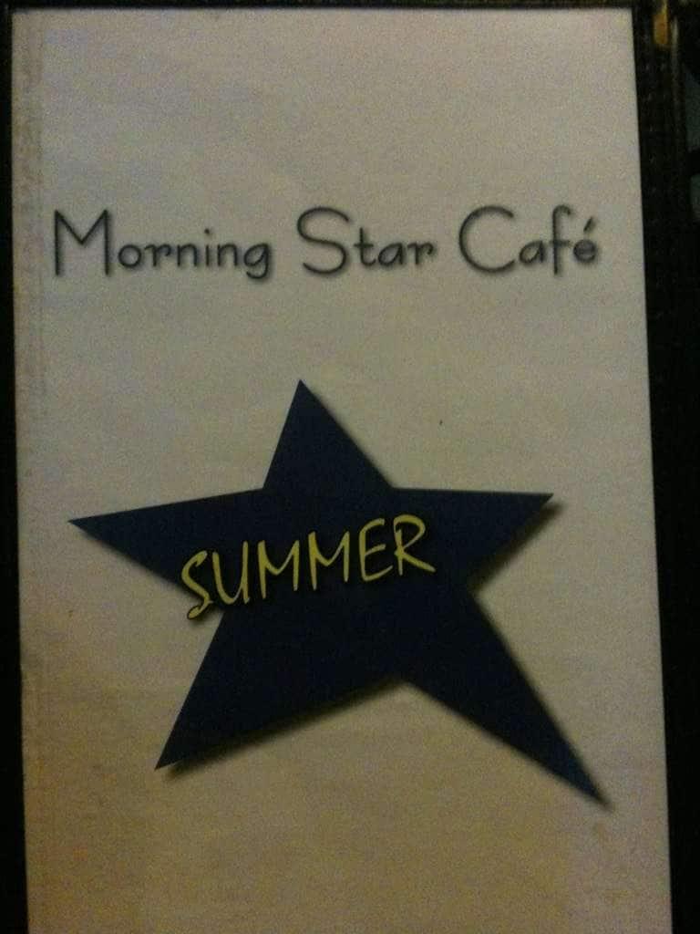 Morning Star Cafe Grand Haven Menu