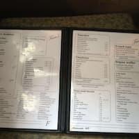 Scanned Menu For Fran 039 S Family Restaurant