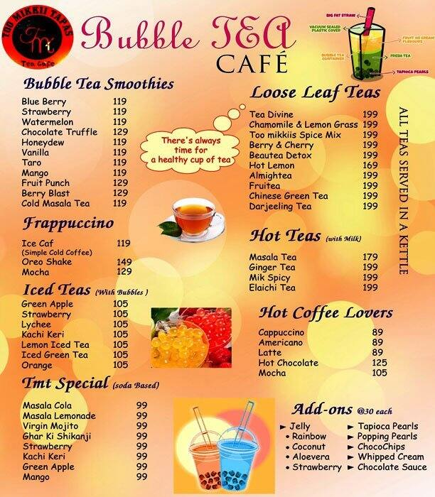 The Bubble Tea Cafe Menu Menu for The Bubble Tea Cafe  : c2ed94e07d0895b435ef325cbada9575 from www.zomato.com size 612 x 700 jpeg 119kB