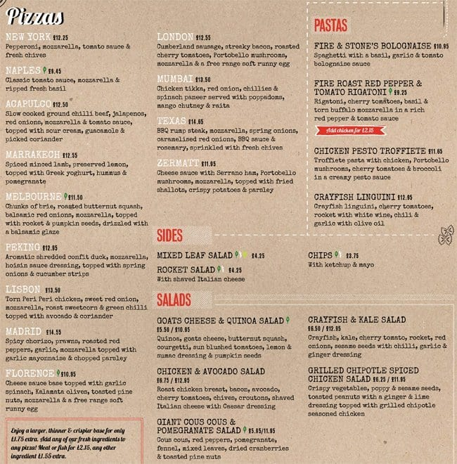 Menu at fire stone restaurant london 3132 maiden ln the restaurant information including the fire stone menu items and prices may have been modified since the last website update workwithnaturefo