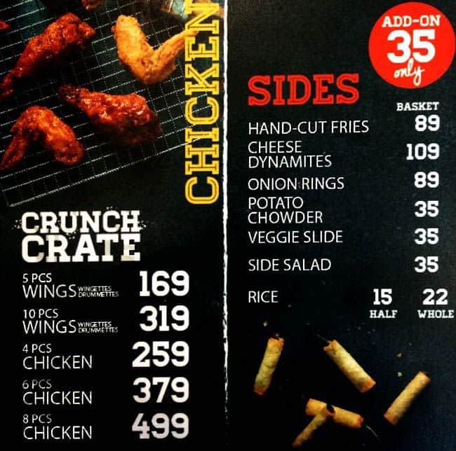 Chicken Charlie Menu Menu For Chicken Charlie Bel Air Makati City
