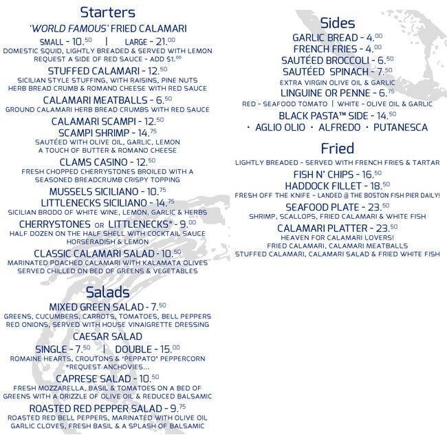 the daily catch restaurant menu - urbanspoon/zomato