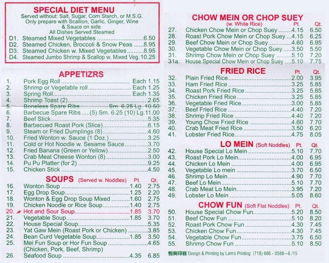 109390 S Western Menu See Thru Chinese Kitchen 1 22 Beaufiful Chinese Kitchen Menu Images