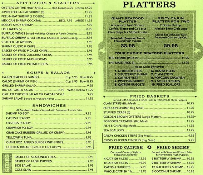 fish bone grill menu menu de fish bone grill northeast