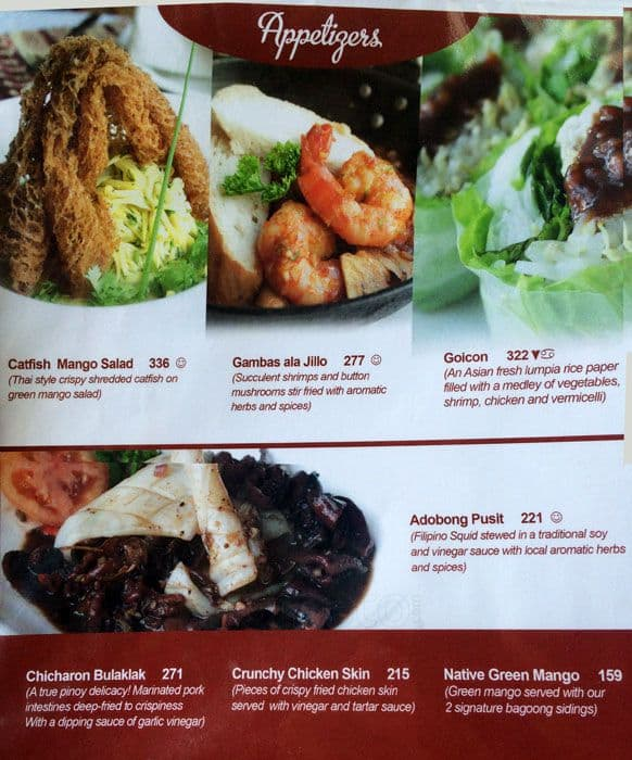 Cafe juanita menu menu for cafe juanita alabang for 328 chinese cuisine menu