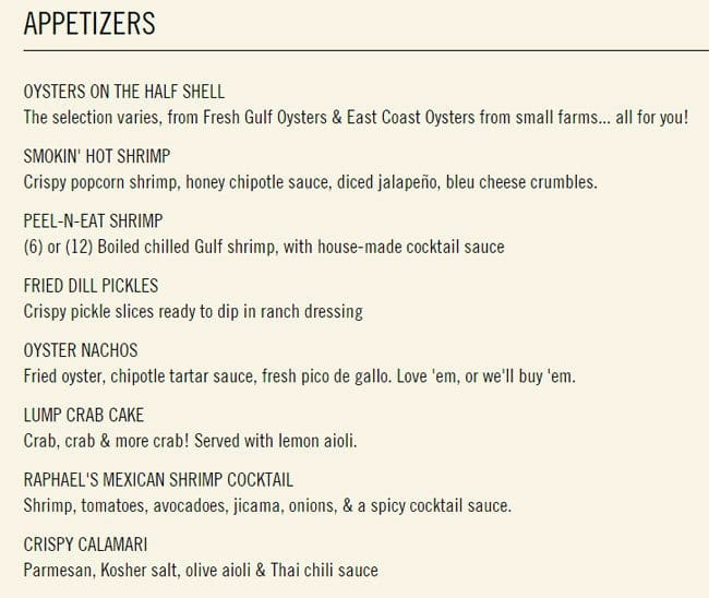 Fish city grill menu menu for fish city grill preston for City fish menu