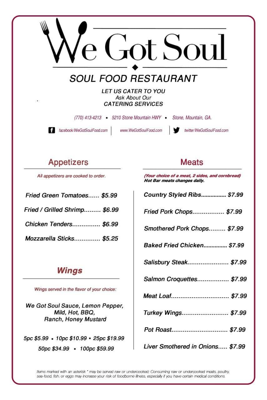 Soul Food Restaurants In New York