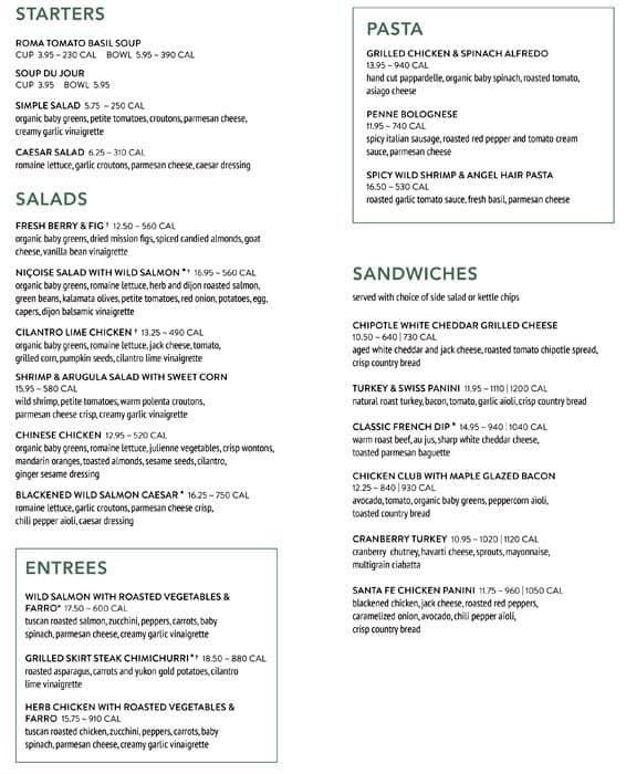 Nordstrom Cafe Bellevue Breakfast