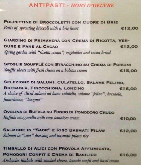 Babette Menu Menu For Babette Spagna Roma Zomato Italy