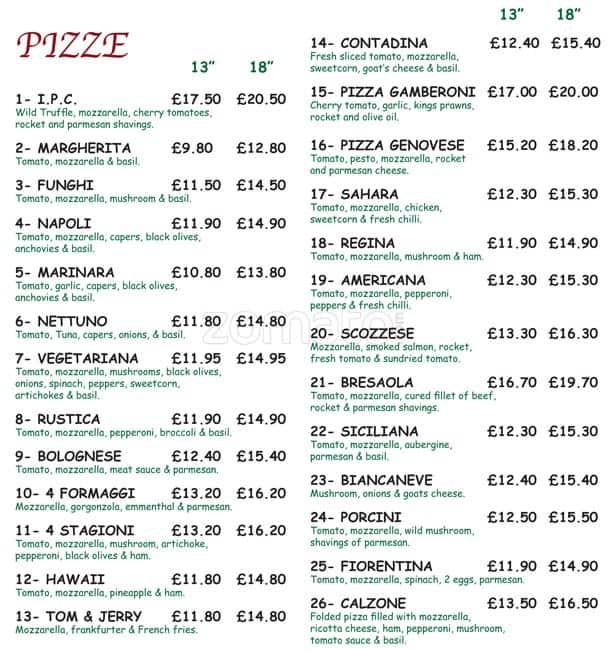 Crabtree Italian Restaurant