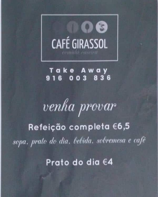 Girassol Cascais Centro Lisboa क म न Zomato Portugal