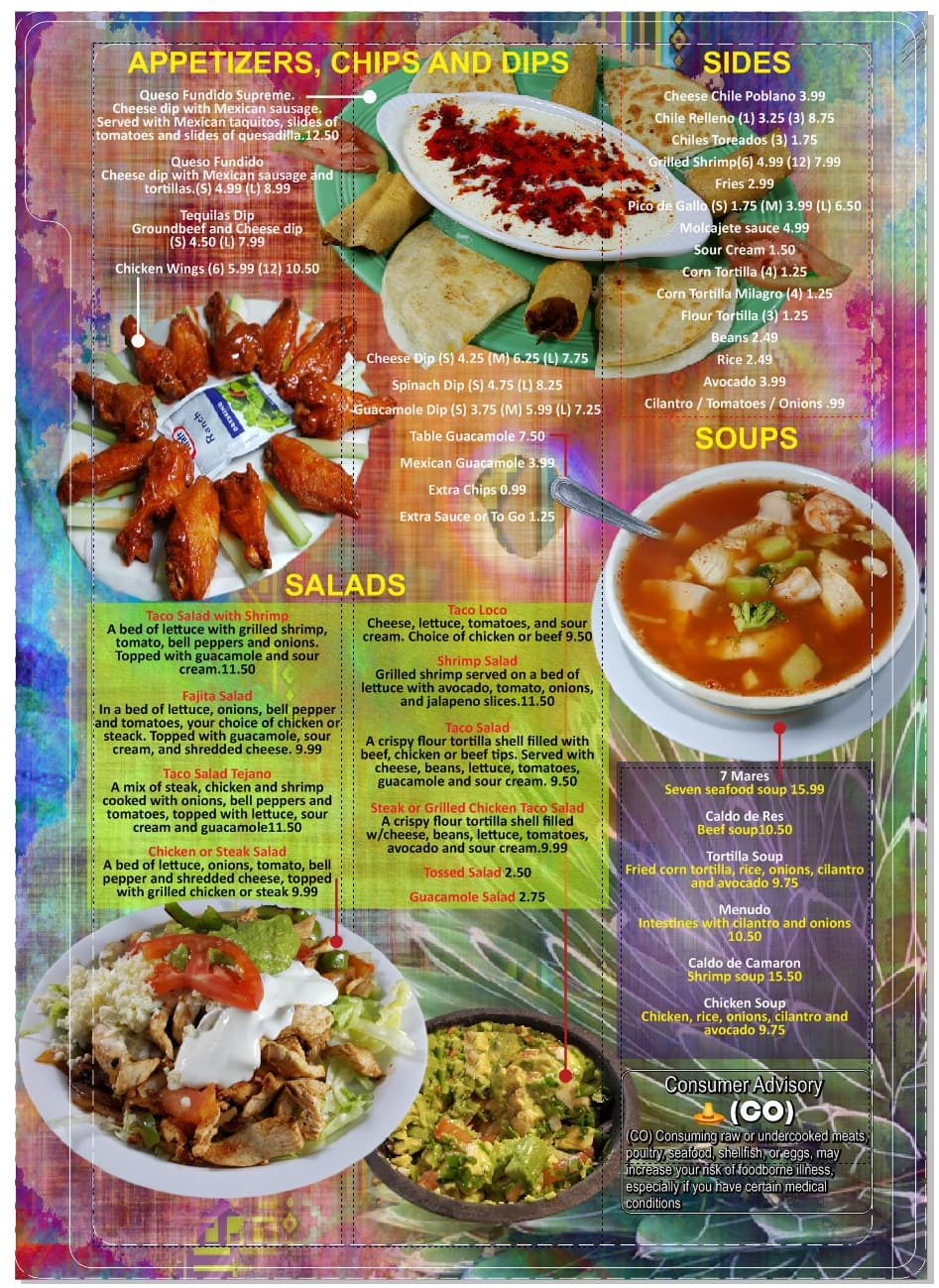 Puerto Vallarta Mexican Restaurant Menu Urbanspoon Zomato