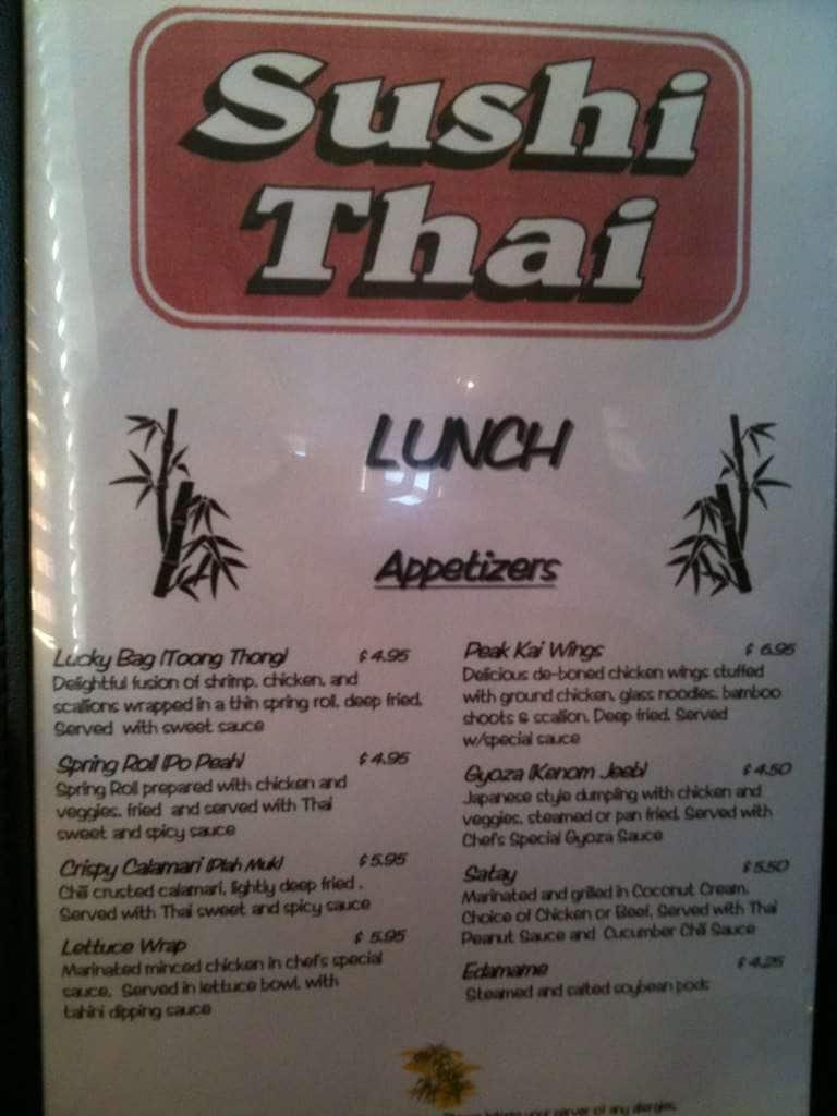 Thai Food Winston Salem