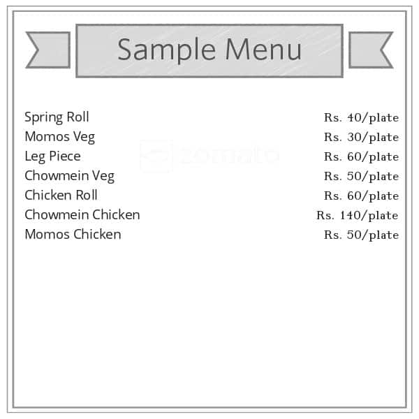 Indian Chinese Fast Food Menu Menu For Indian Chinese Fast Food