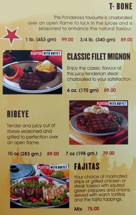 ponderosa steak house menu menu for ponderosa steak house madinat rh zomato com Ponderosa Steakhouse Buffet Items How Much Is Ponderosa Buffet