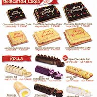 Red Ribbon Cake Roll Price List