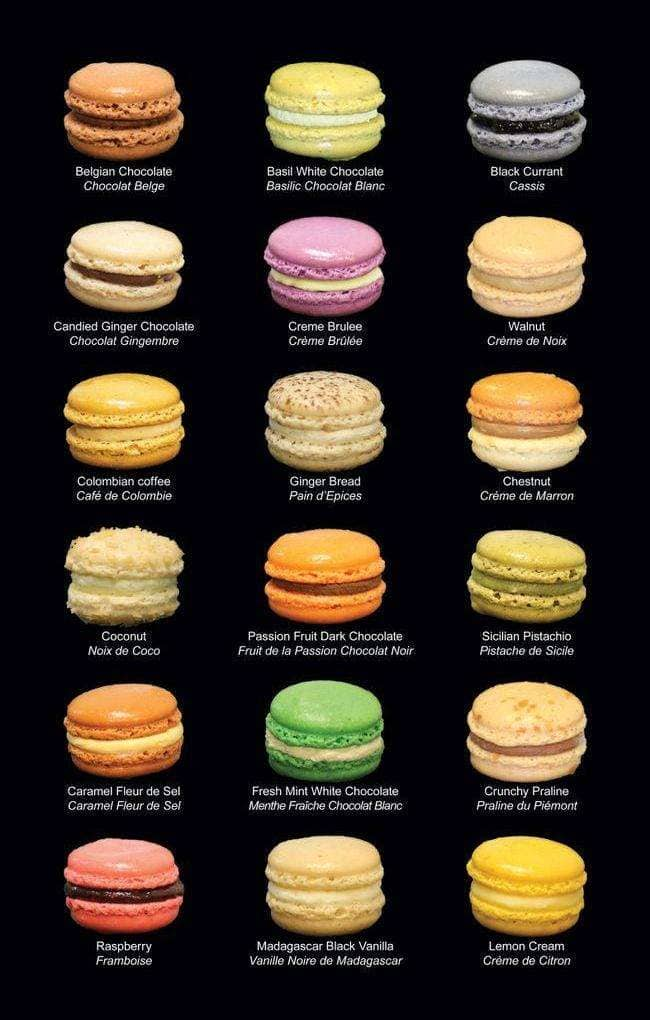 Macaron Cafe Breakfast Menu