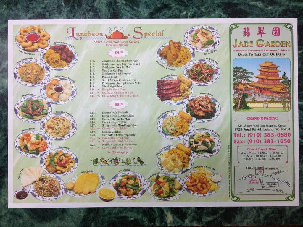 chinese food leland nc food ForJade Garden Leland Nc