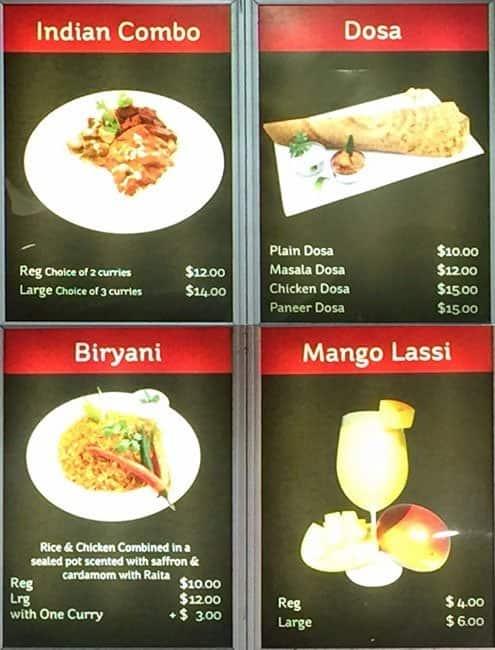 Urban turban menu menu for urban turban cannington for Food bar cannington