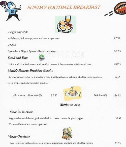 sports attic 2 menu