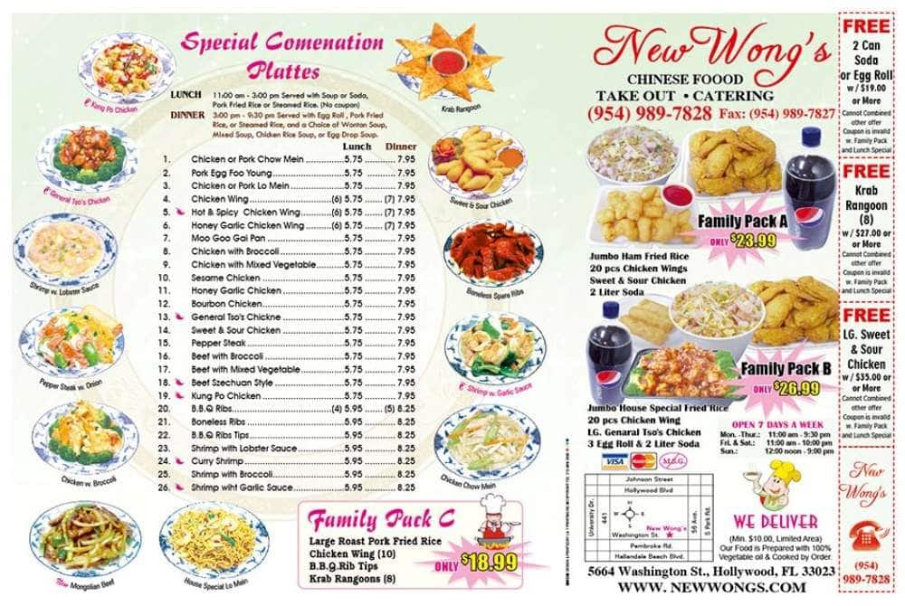 New Wong Asian Food