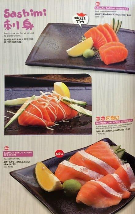 Sushi King Menu Menu For Sushi King Ss 16 Selangor Zomato Malaysia