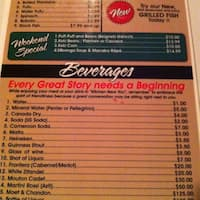 scanned menu for kitchen near you african cuisine - Kitchen Near You