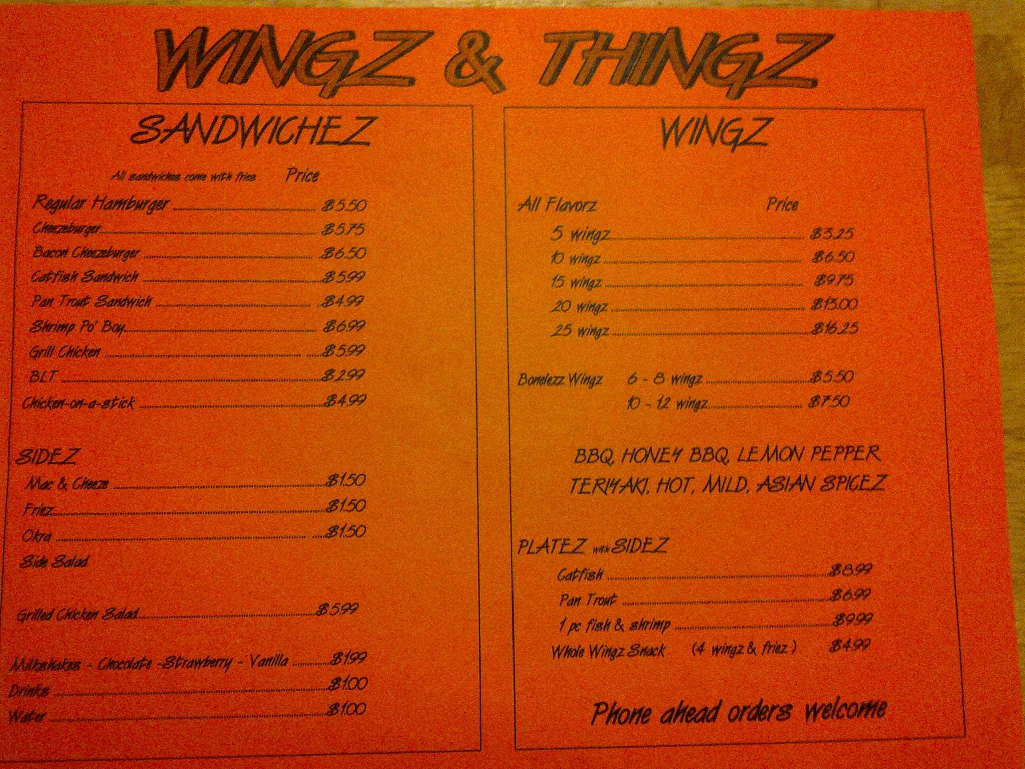 Hazlehurst (MS) United States  City pictures : ... , Menu for Wingz & Thingz, Hazlehurst, Hazlehurst Urbanspoon/Zomato